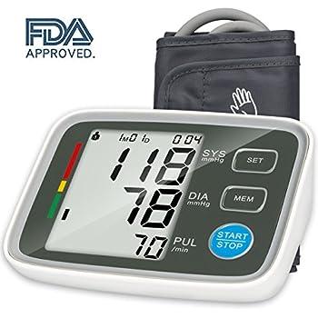 Urion Blood Pressure Monitor Sphygmomanometer - Blood Pressure Machine Easy To Read Bp Monitor, Automatic Blood Pressure Monitor Upper Arm 2 user mode