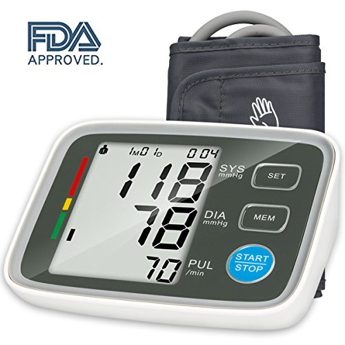 Automatic Digital Arm (Urion Upper Arm Blood Pressure Monitor with Automatic Digital Blood Pressure Cuff 8.7 To 12.6 Inch 2 User Mode)