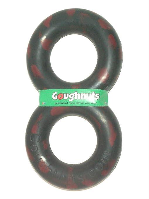 Goughnuts - TuG Interactive Large Dog Toy - MaXX Black