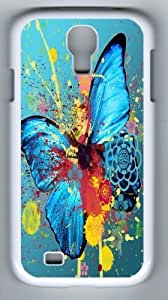 Samsung Galaxy S4 I9500 Abstract Butterfly Case/Cover