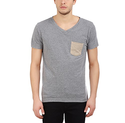 American Crew Men's V Neck Half Sleeve T-shirt