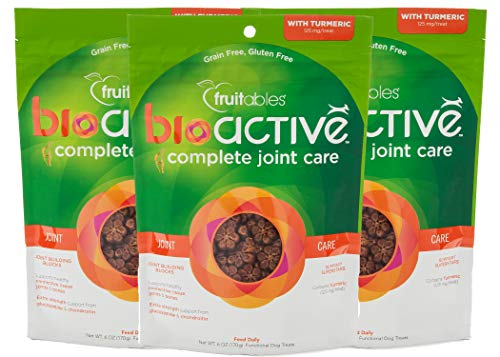 Fruitables BioActive Chews for a Glossy Coat and Healthy Joints