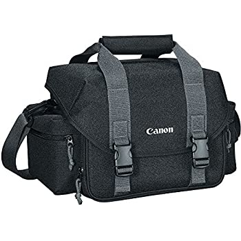 Canon 300DG Digital Gadget Bag For All EOS and Rebel Cameras, Black/Gray