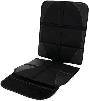 Skaize Kindersitzunterlage Auto Sitzauflage Kindersitz Sitzschoner Schwarz Isofix Geeignet Auto