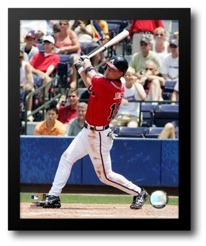 Framed Chipper - Chipper Jones - 2006 Batting Action 12x14 Framed Art Print