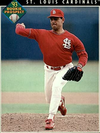 Amazoncom 1993 Pinnacle Baseball Rookie Card 599 Rene Arocha