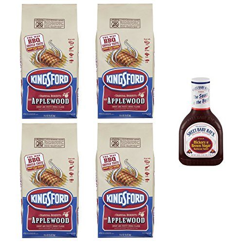 Kingsford Original Charcoal Briquettes with Applewood, 14.6