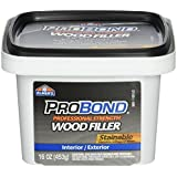 ELMERS Available Stainable Wood Filler, 1 Pint (P9891), 16 oz, Brown