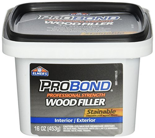 ELMERS Not Available Stainable Wood Filler, 1 Pint (P9891), 16 oz, Brown