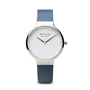 BERING Reloj Analogico para Mujer de Cuarzo con Correa en Silicona 15531-700: Amazon.es: Relojes