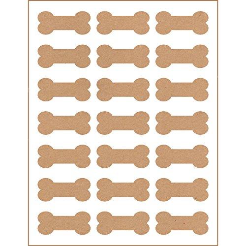 Kraft Address Labels - 9