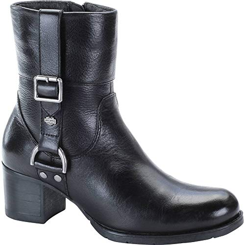 Harley-Davidson Women's Sadie Work Boot, Black, 6.5 M US
