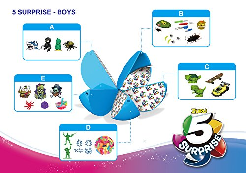 5 Surprise Blue Mystery Capsule Collectible Toy (Wave 2) Pack by Zuru by 5 Surprise (Image #8)
