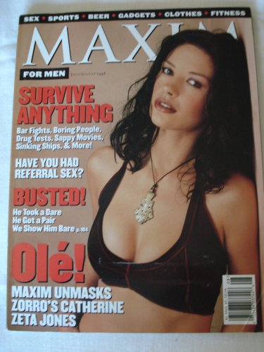 - Maxim For Men Magazine July/August 1998
