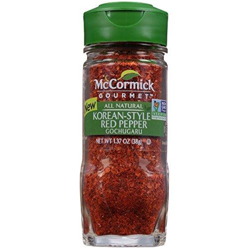 McCormick Gourmet Korean Style Red Pepper, 1.37 oz