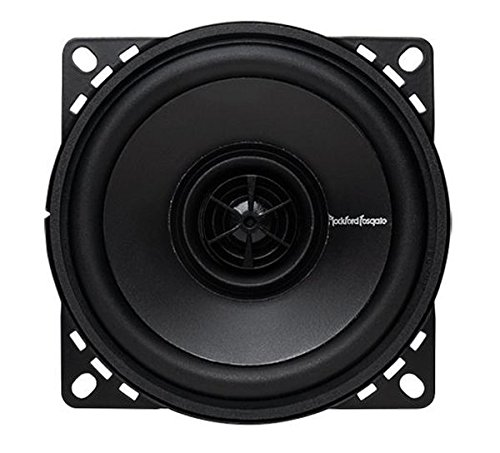 Rockford Fosgate R14X2 Prime 4-Inch Full Range Coaxial Speaker - Set of 2