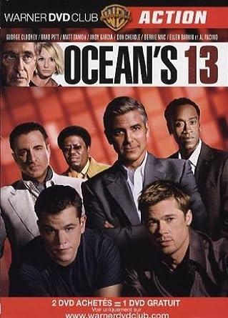 Océan S Thirteen Fr Import Clooney George Soderbergh Steven Clooney George Dvd Blu Ray