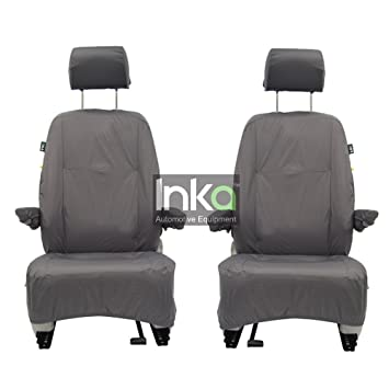 Volkswagen VW Transporter T5 T51 GP Fully Tailored Waterproof Front Set Seat