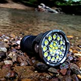 ACEBEAM X80-GT Flashlight 18 CREE XHP50.2 LEDs with Max 32500 lumen Torch Waterproof-IPX8 Underwater 30 meters Searchlight