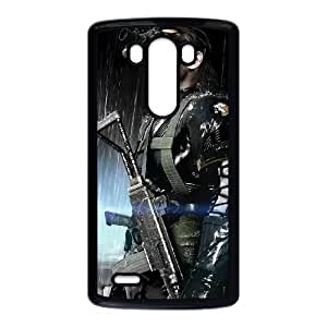 games Metal Gear Solid V The Phantom Pain Poster LG G3 Cell Phone Case Black Present pp001-9529178