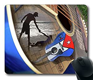 """Music By The Sea Mousepad gaming Mouse Pad Standard Size Mouse Pad Thick Mouse Pad in 220mm*180mm*3mm (9""""*7"""") -82555"""