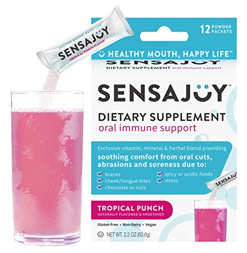 SENSAJOY Natural Canker Sore Treatment - Healthy Mouth