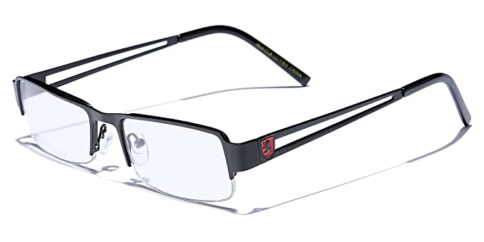 33841c014e0 Small Rectangular Frame Clear Lens Designer Sunglasses RX Optical Eye  Glasses