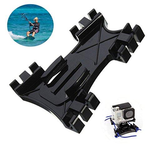 D&F Kiteboard Surfing Kite Line Mount Holder+Buckle Accessory Kit for GoPro Hero 4 3+ 3 2 SJ4000