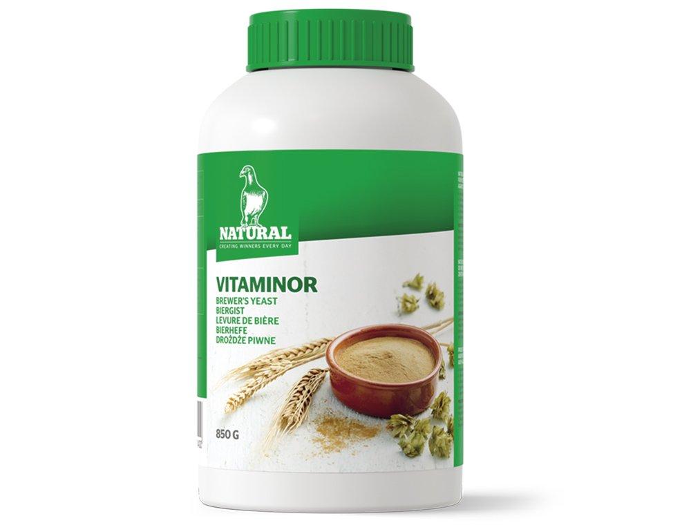 Natural Vitaminor Levure de Bière pour Oiseau 850 g 89014