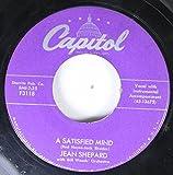 Jean Shepard 45 RPM A Satisfied Mind / Take Possession