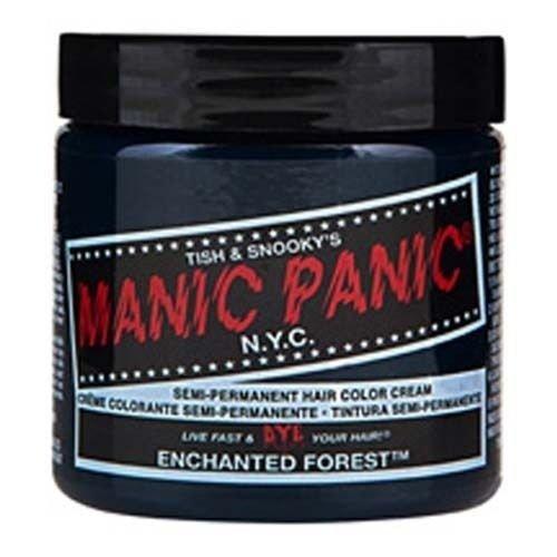 Manic Panic Semi Permanent Hair Dye Enchanted Forest Green(4 fl oz)