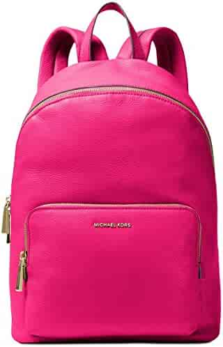 c700989ac84622 MICHAEL MICHAEL KORS Wythe Large Perforated Leather Backpack (Ultra Pink)