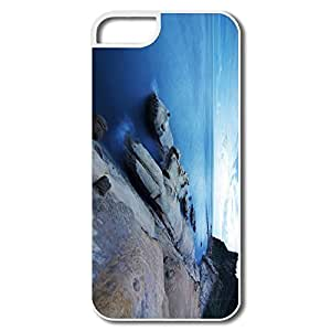 IPhone 5S Cases, Yehliu Taiwan Cases For IPhone 5 5S - White Hard Plastic