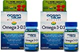 Ocean Blue Professional Omega 3 MiniCaps with Vitamin D3 | Fish Oil | No Fishy Taste (2-Pack)