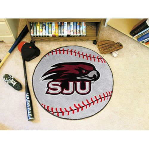 Baseball Floor Mat - St. Joseph's University