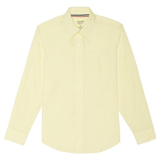 26b8d8655 Amazon.com  French Toast Boys  Long Sleeve Poplin Dress Shirt  Clothing