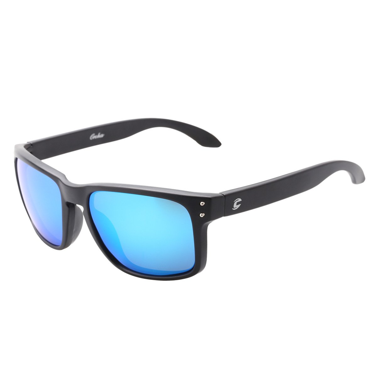 100be24cb2 Amazon.com  Mobike Polarized Wayfarer Sunglasses Reflective Color Full  Mirrored Lens  Clothing