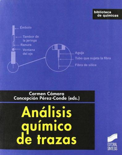 Descargar Libro Análisis Químico De Trazas Carmen Cámara Rica