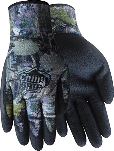Red Steer A327WC-M Chilly Grip Woodland Camo Thermal Multi-Purpose Gloves [Price is per Pair] (Medium) ()