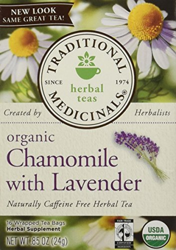 Traditional Medicinals Organic Chamomile With Lavender, Tea Bags 16 ea by Traditional Medicinals