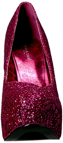 Mujer 06gw Rosa Tacón Pleaser h De Glitter Pink Punta Teeze Cerrada Zapatos Hpg Con Para 4qwwABazW5