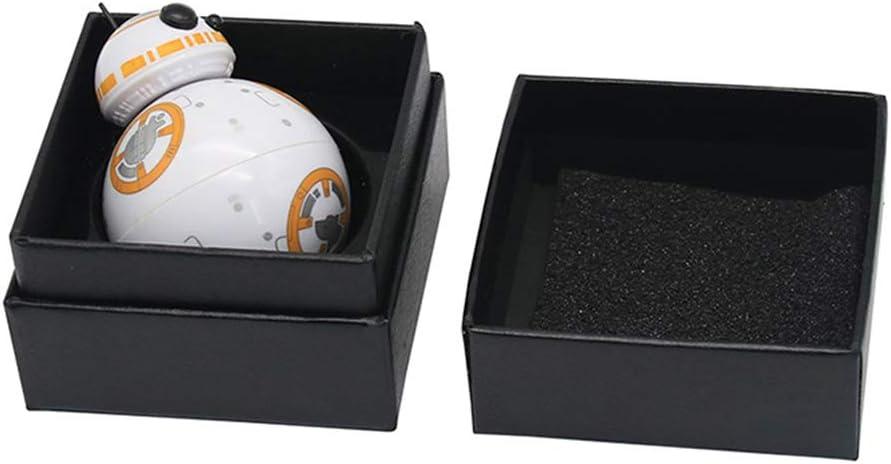 YDZM 9pcs Molinillo de Hierbas de 3 Capas Creatividad Star Wars bb8 Robot Molinillo de Humo de aleaci/ón de Zinc port/átil para Hierbas secas y Tabaco