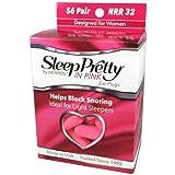 HEAROS Sleep Pretty in Pink Women's Ear Plugs, 56 Pair
