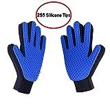 JV Pet Grooming Glove - Gentle Deshedding Brush Gloves -...