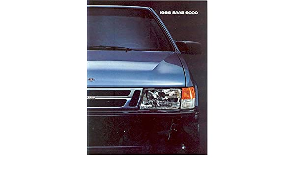 Amazon.com: 1986 Saab 9000 Turbo Sales Brochure: Entertainment Collectibles
