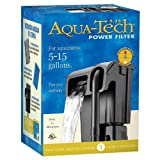 Water Filter Aquarium Aqua-Tech Power Aquarium Filter, 5 to 15-Gallon