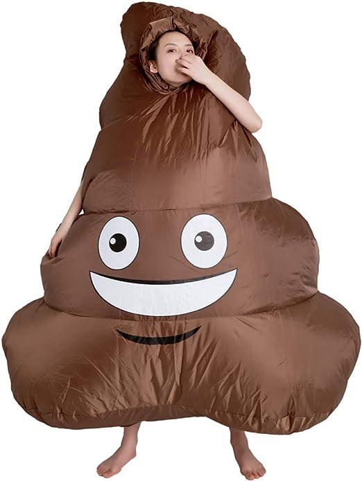 TAKEFUNS disfraz inflable para adultos, disfraz de caca de ...