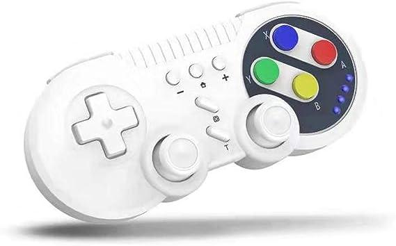 JFUNE Switch Pro Controlador Mando Retro Inalámbrico para Nintendo ...