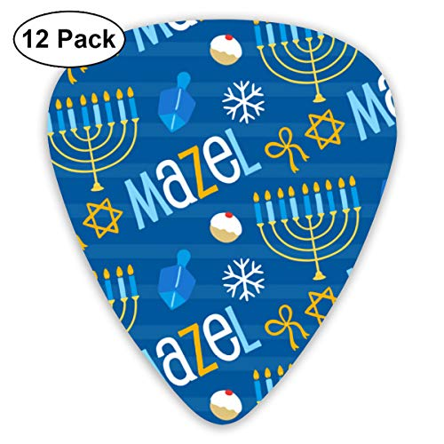 Character Candle Bendy Ultra Thin 0.46 Med 0.73 Thick 0.96mm 4 Pieces Each Base Prime Plastic Jazz Mandolin Bass Ukelele Guitar Pick Plectrum Display]()