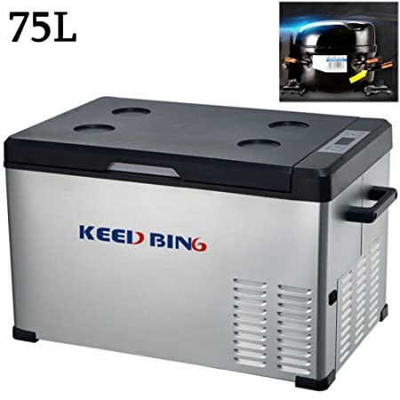 KEED BING Nevera Portatil 12V Compresor 220V 24V Nevera Electrica ...